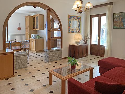 Bild von Ferienhaus in Italien Lake Como Apartment in Ossuccio Lombardy