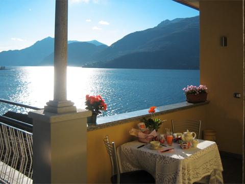 Bild von Ferienhaus in Italien Lago di Como Appartamento in Dervio Lombardia