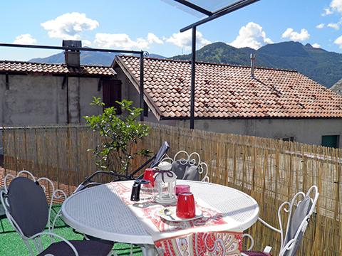 Bild von Ferienhaus in Italien Lake Como Apartment in Peglio Lombardy
