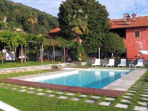 Bild von Ferienhaus in Italien Lago Maggiore Ferienwohnung in Lesa Piemont