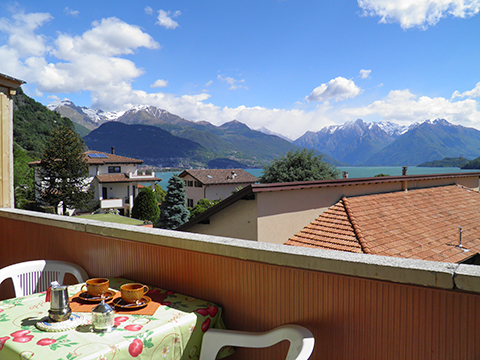 Bild von Ferienhaus in Italien Comer See Ferienwohnung in Musso Lombardei