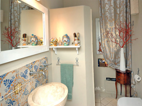 Bild von Ferienhaus in Italien Sizilien Nordküste Villa in Terrasini  Sizilien
