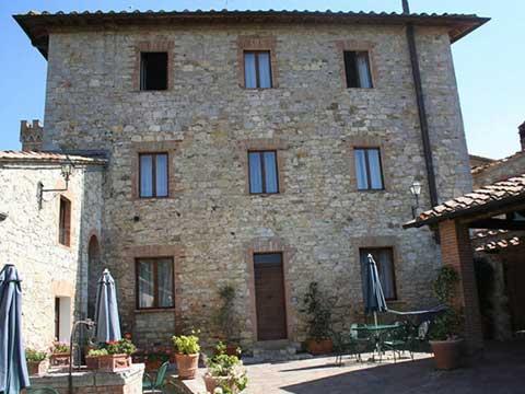 Bild von Italien Ferienwohnung in Chianti Toskana