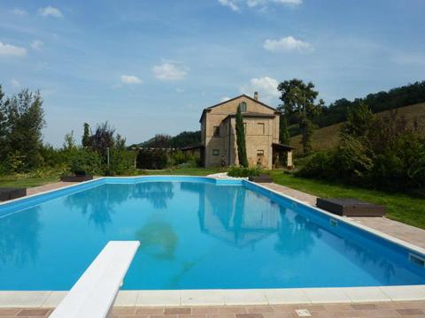 Bild von Ferienhaus in Italien Adria Villa in San Ginesio Marken