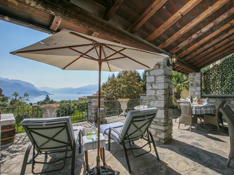 Bild von Ferienhaus in Italien Lake Como Apartment in San Siro Lombardy