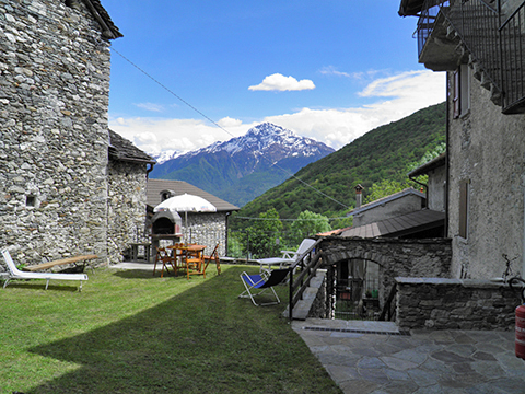 Bild von Ferienhaus in Italien Comer See Ferienwohnung in Livo Lombardei