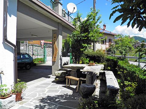 Bild von Ferienhaus in Italien Comer See Ferienwohnung in Stazzona Lombardei