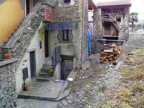Bild von Ferienhaus in Italien Comer See Ferienwohnung in Dosso del Liro Lombardei