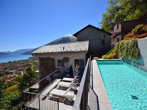 Bild von Ferienhaus in Italien Lago di Como Rustico in Gravedona  Lombardia