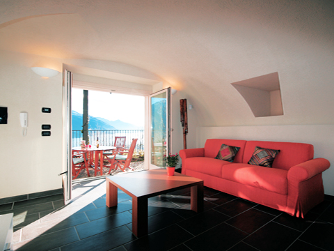 Bild von Ferienhaus in Italien Comer See Ferienwohnung in Gravedona  Lombardei