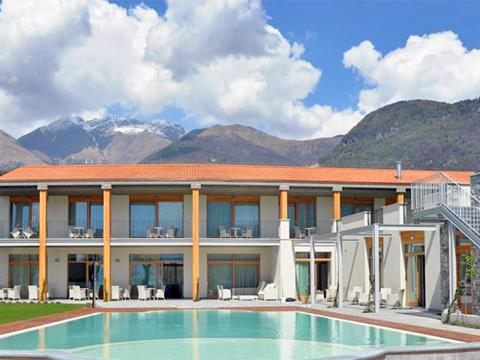 Bild von Ferienhaus in Italien Lac de Côme Hotel in Gravedona Lombardie