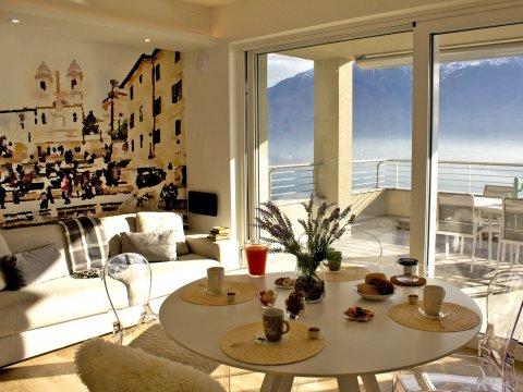 Bild von Ferienhaus in Italien Comomeer Wellnesshuis in Vercana Lombardy