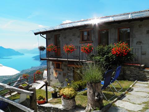Bild von Ferienhaus in Italien Lago di Como Agriturismo in Peglio Lombardia