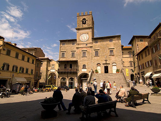 Bild von Cortona in Italien