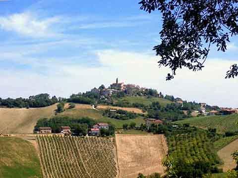 Bild von Monte Rinaldo in Italien
