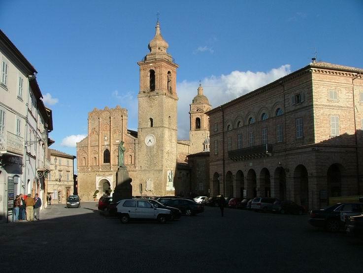Bild von San Ginesio in Italien