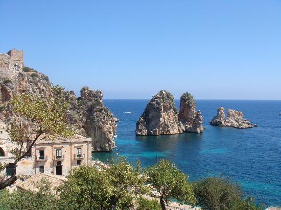 Bild von Scopello in Italien