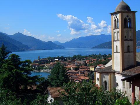 Bild von Gravedona in Italien