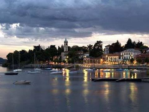 Bild von Lesa in Italien