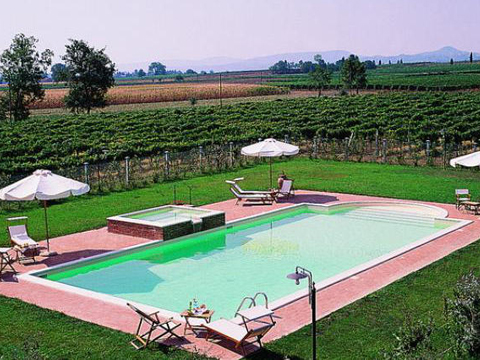Bilder Holiday home Adriano_Montepulciano_15_Pool Florence / Tuscany
