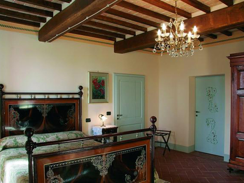 Bilder Holiday home Adriano_Montepulciano_40_Doppelbett-Schlafzimmer Florence / Tuscany