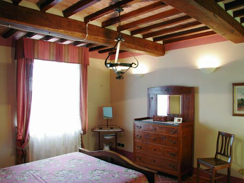 Bilder Holiday home Adriano_Montepulciano_45_Schlafraum Florence / Tuscany