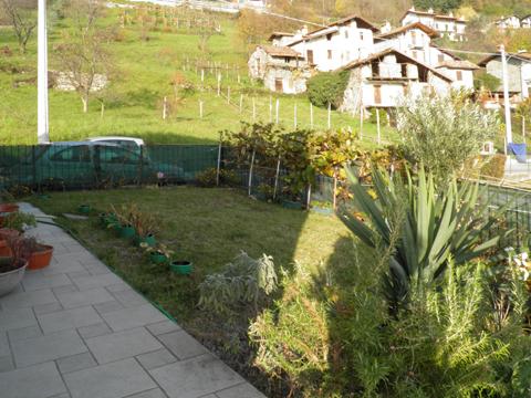 Bilder von Comer See Ferienhaus Ai_Ronchi_Gravedona_20_Garten