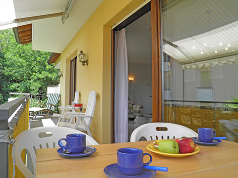 Bilder von Comer See Ferienwohnung Al_Motto_Cremia_10_Balkon