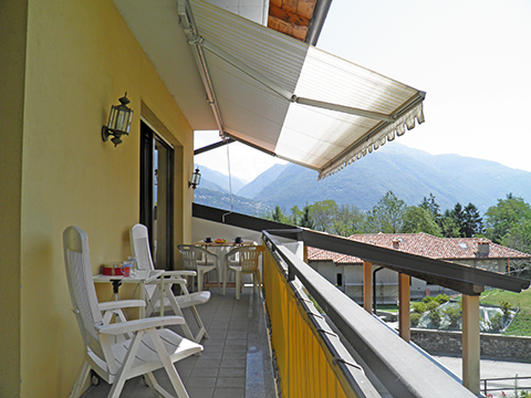 Bilder von Comer See Ferienwohnung Al_Motto_Cremia_11_Terrasse