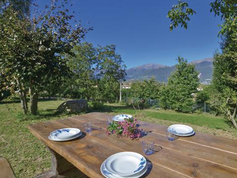 Bilder von Comer See Ferienwohnung Al_Verde_Colico_25_Panorama