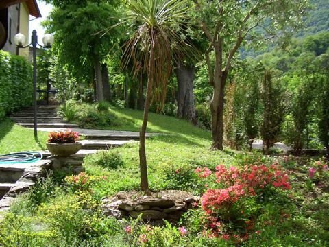 Bilder von Comer See Ferienhaus Alessia_Rezzonico_20_Garten