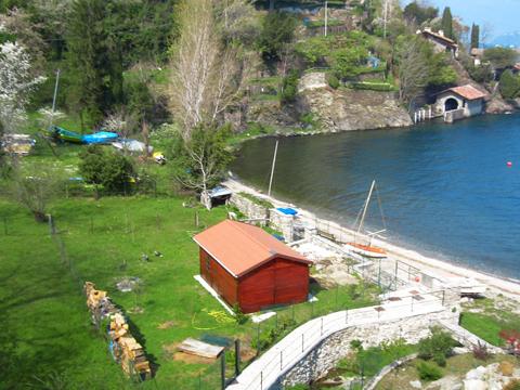 Bilder von Lago di Como Casa vacanza Alessia_Rezzonico_65_Strand