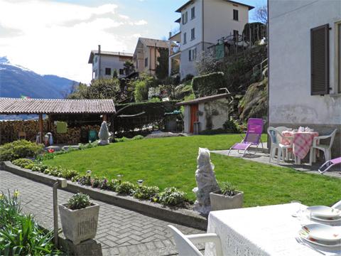 Bilder von Comer See Ferienwohnung Alla_Spiaggia_Pianello_del_Lario_20_Garten