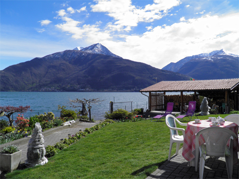 Bilder von Lake Como Apartment Alla_Spiaggia_Pianello_del_Lario_25_Panorama