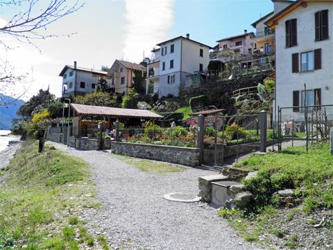 Bilder von Comer See Ferienwohnung Alla_Spiaggia_Pianello_del_Lario_55_Haus