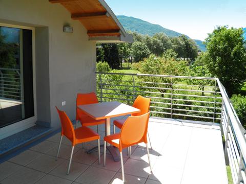 Bilder von Comer See Ferienhaus Alle_Torri_Colico_10_Balkon