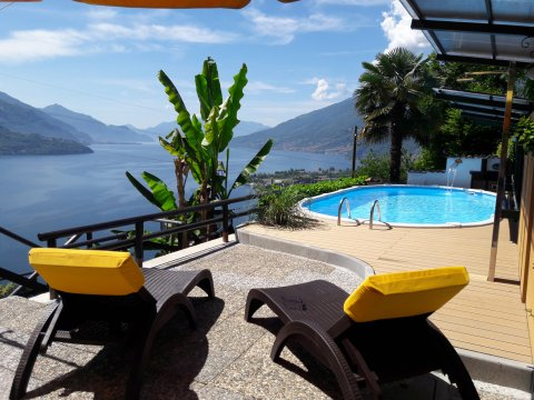Bilder von Lake Como Apartment Amarone_Gravedona_15_Pool