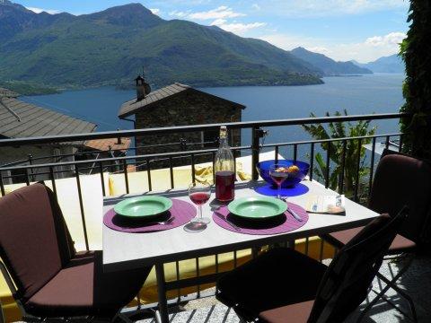 Bilder von Comer See Ferienwohnung Amarone_Gravedona_25_Panorama
