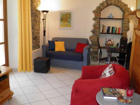 Bilder von Lago di Como Appartamento Amarone_Gravedona_30_Wohnraum