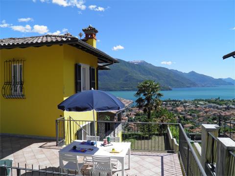 Bilder von Comer See Ferienwohnung Aneris_Gravedona_11_Terrasse