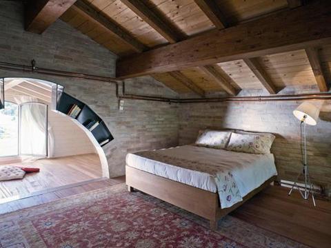 Bilder von Mare Adriatico Villa Antonella_Morrovalle_40_Doppelbett-Schlafzimmer