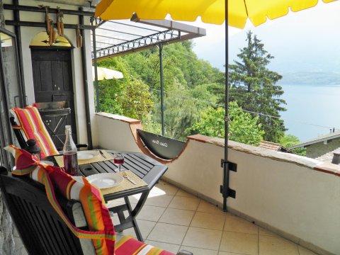 Bilder von Comer See Ferienwohnung Asti_Gravedona_25_Panorama