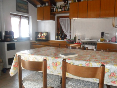 Bilder von Comer See Ferienhaus Baita_Zia_Marianna_Vercana_35_Kueche