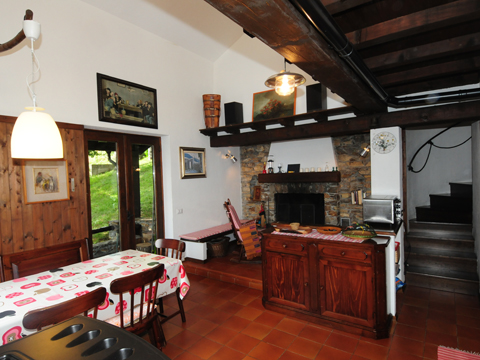 Bilder von Comer See Ferienhaus Balbi_Vercana_30_Wohnraum