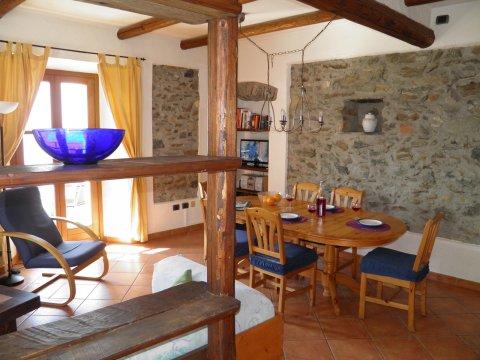 Bilder von Lac de Côme Appartement Barolo_Gravedona_30_Wohnraum