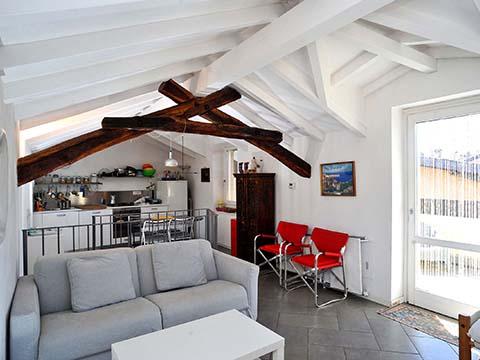 Bilder von Comer See Ferienwohnung Bellavista_Bellagio_30_Wohnraum