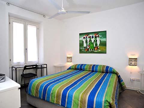 Bilder von Comer See Ferienwohnung Bellavista_Bellagio_40_Doppelbett-Schlafzimmer