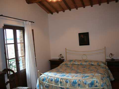 Bilder von Chianti Ferienwohnung Borgo_1_Castelnuovo_Berardenga_41_Doppelbett