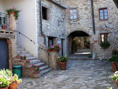 Bilder von Chianti Ferienwohnung Borgo_2_Castelnuovo_Berardenga_11_Terrasse