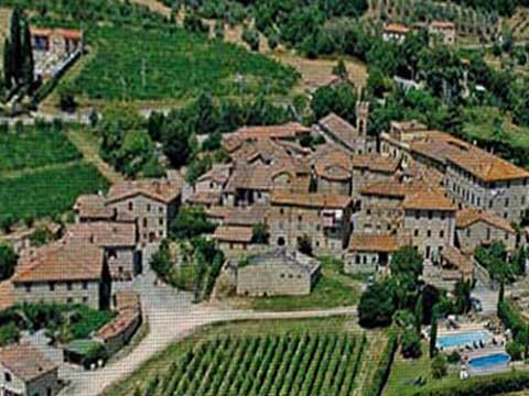 Bilder von Chianti Ferienwohnung Borgo_2_Castelnuovo_Berardenga_25_Panorama